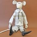 Интеллигентная мышь мальчик