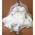 Зебра невеста большая