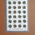 Мини кнопки 5 мм под бронзу (24шт)