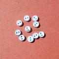 Пуговки 6 мм круглая голубая