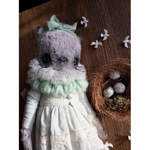 Набор для шитья кошки Клеметинка