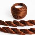 Нитки для вышивки носиков коричневые