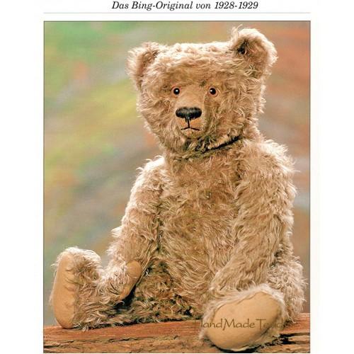 Выкройка классического немецкого медведя 1928г