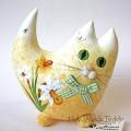 Котёнок жёлтый